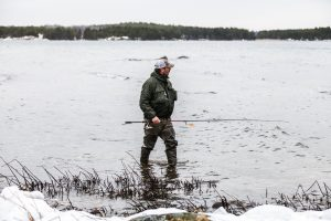 En fiskare i Västerviks skärgård