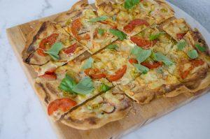"""Flammkuchen - fransk """"pizza"""""""