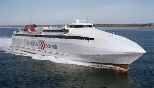 Destination Gotland trafikerar Västervik - Visby.
