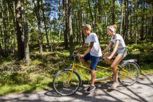 Cykling på Hasselö