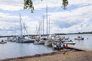 Gästhamnen vid Hasselö