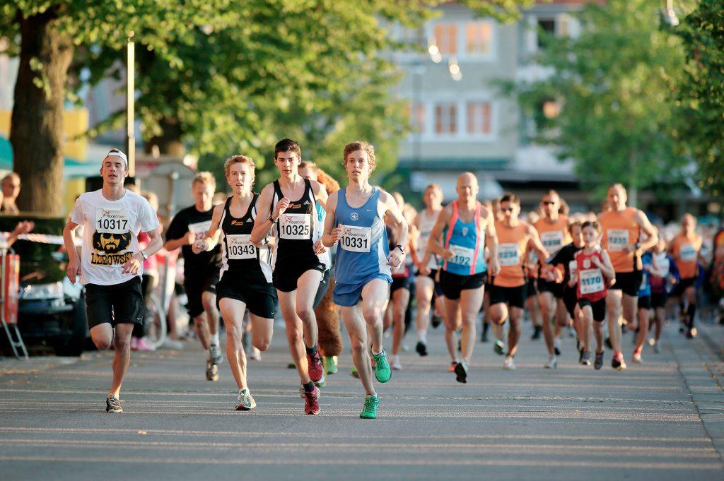 Karhu Run, ett löplopp i Västervik.
