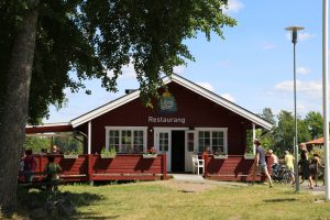 Långsjön Campings restaurang