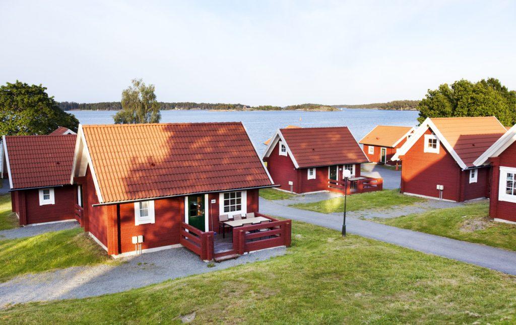 Stugor på Västervik Resort