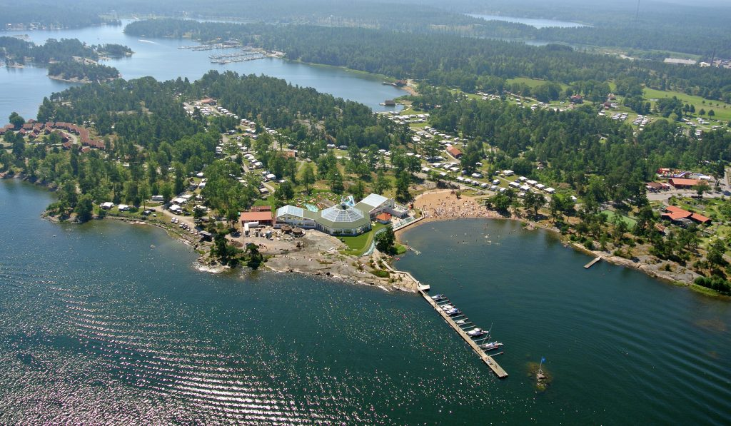 Översikt av Västervik Resort