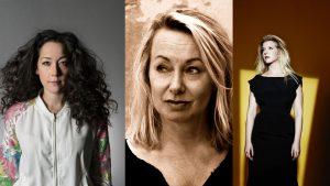 Tre klara artister till Visfestivalen 2018