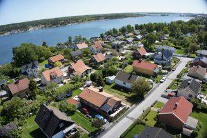 Villaområde Brevik i Västerviks stad