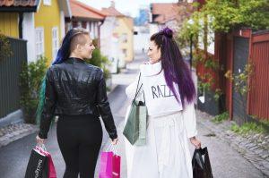Shoppingpar i Västervik