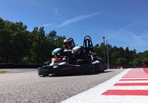 Gokart på Action Center i Västervik