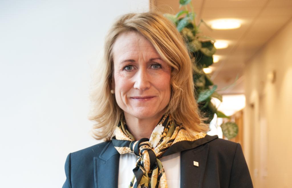 Anna Blom, vd på Länsförsäkringar Kalmar län