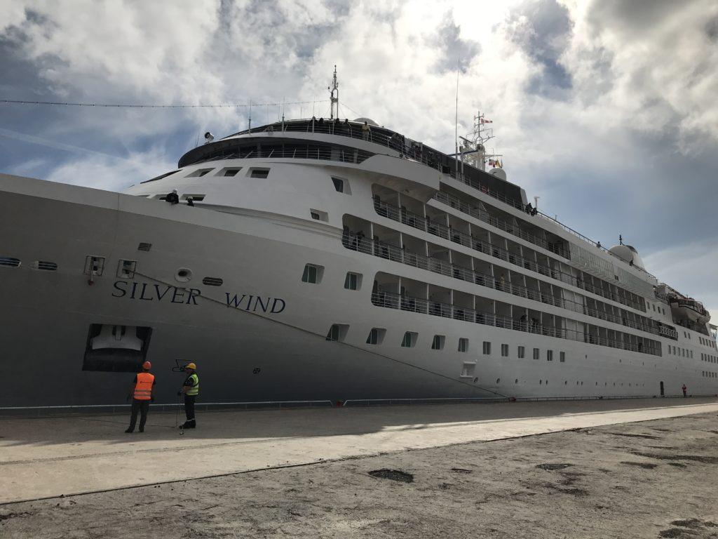 Kryssningsfartyget Silver Wind