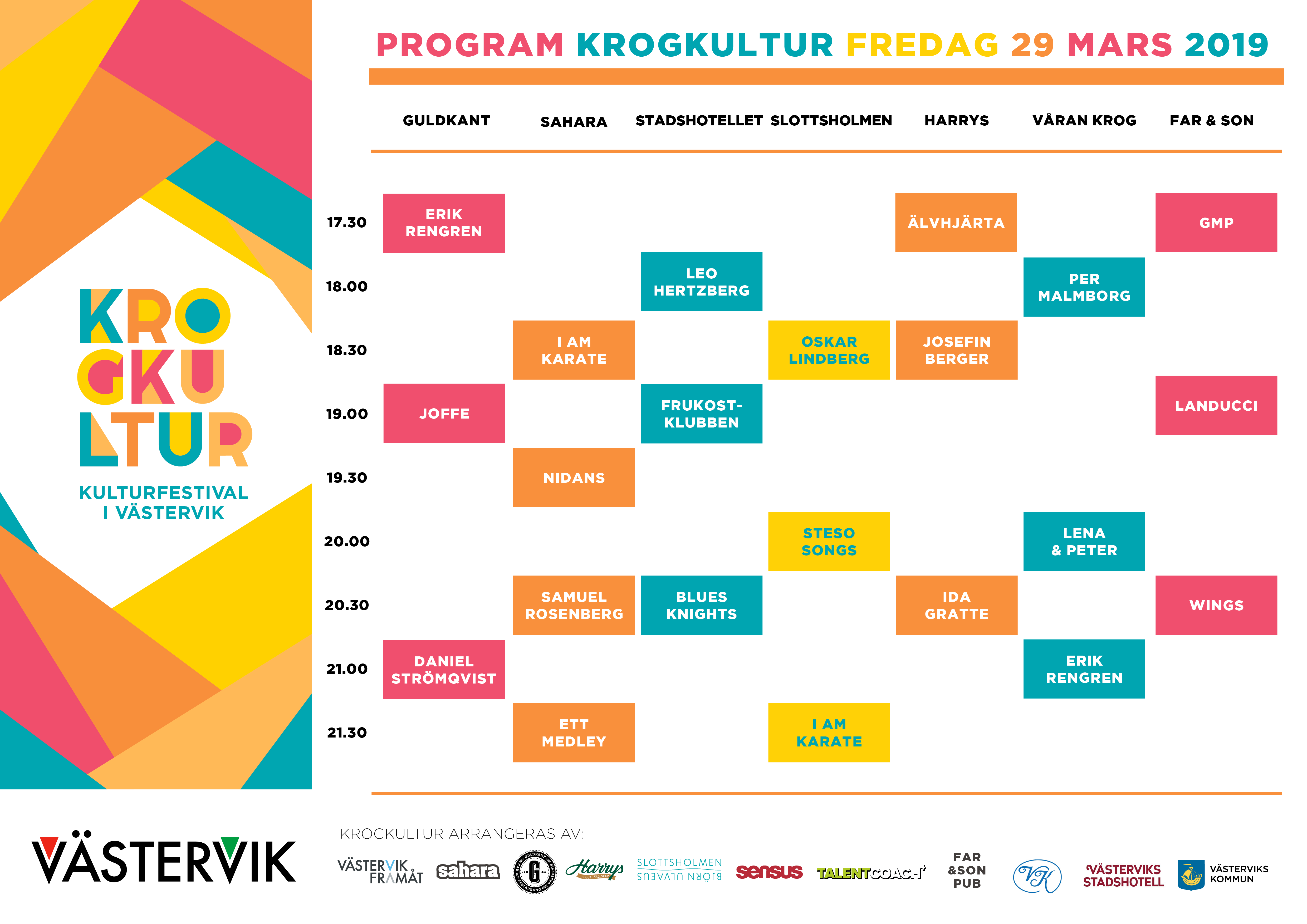 Program Krogkultur 2019