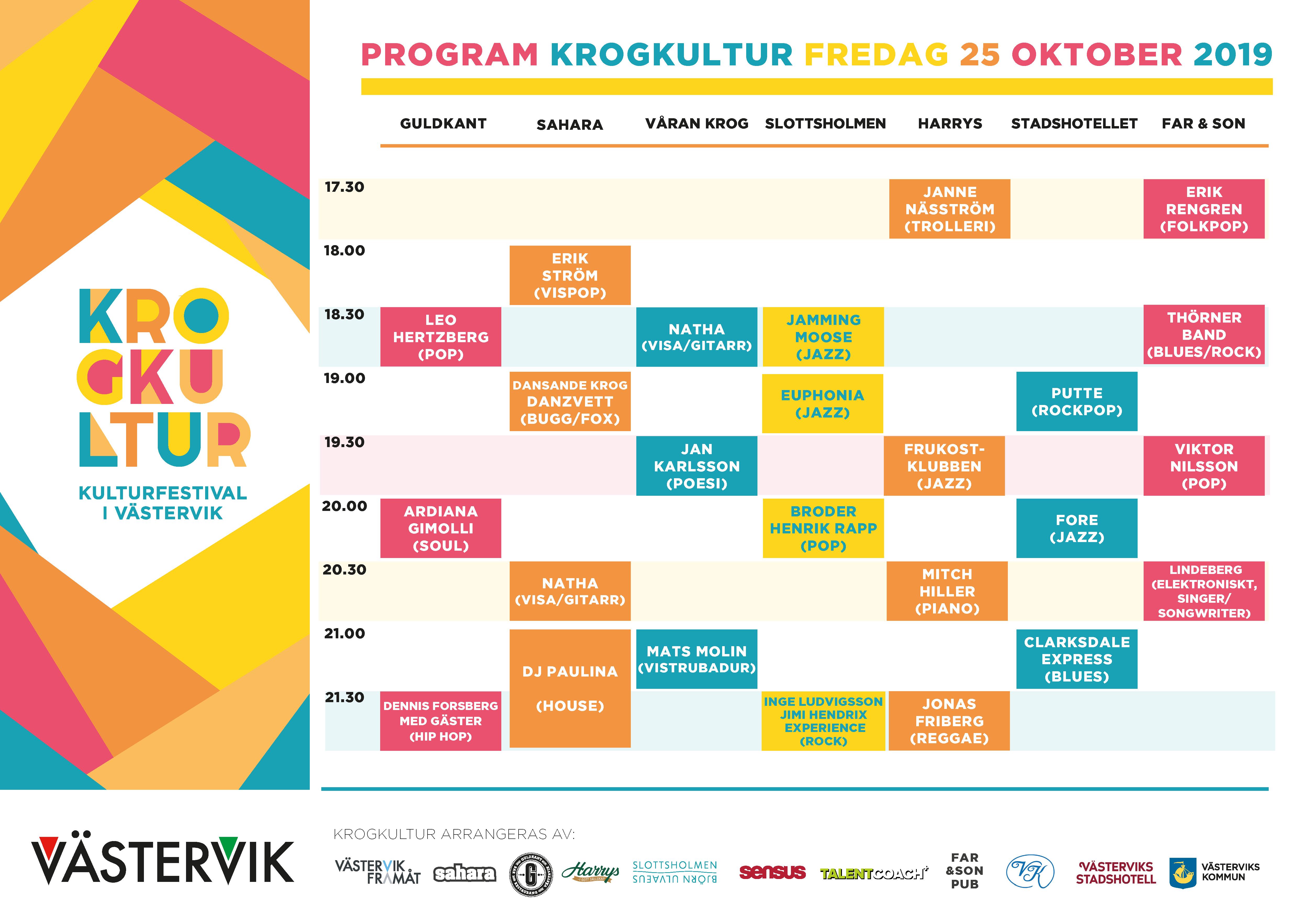 Program Krogkultur 25 OKT 2019 191024