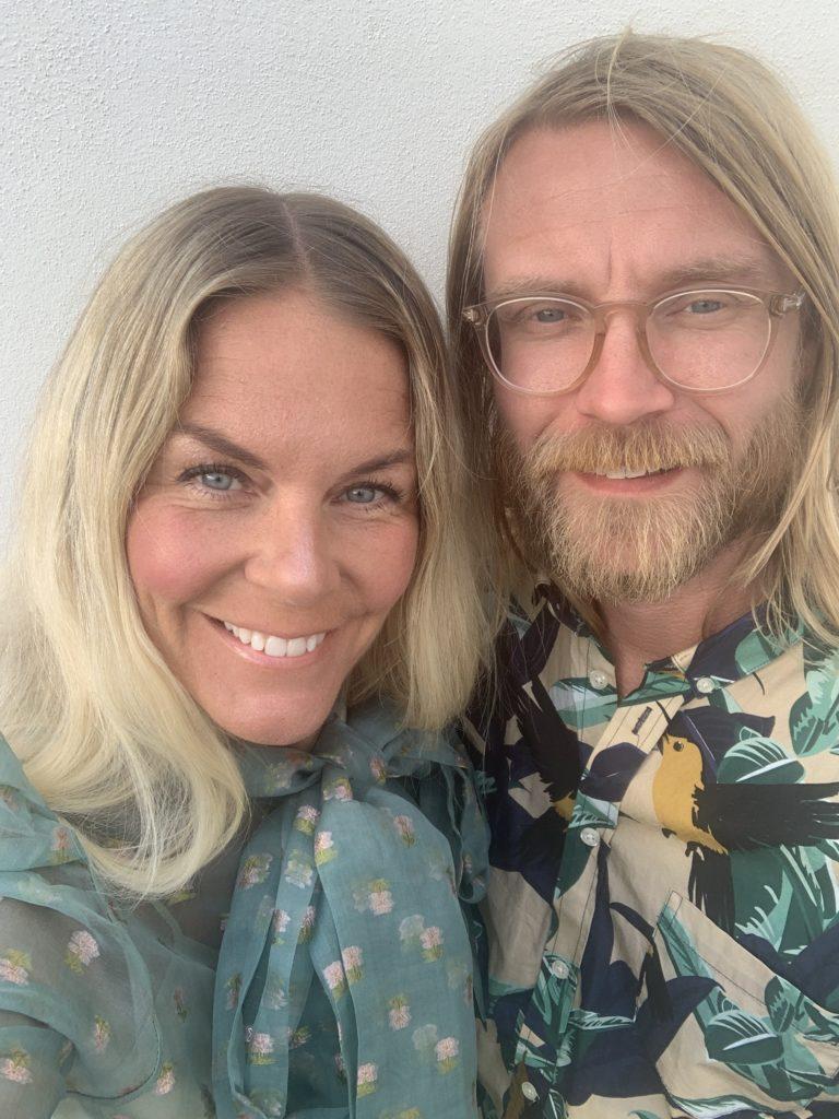 Christin Rampeltin Molin och Gustaf Molin Ogräs, Västervik