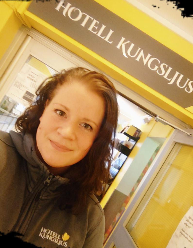 Emma Candestedt från Hotell Kungsljus,Västervik
