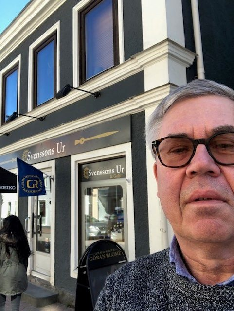 Göran Blomé  Svenssons Ur&Guld, Västervik