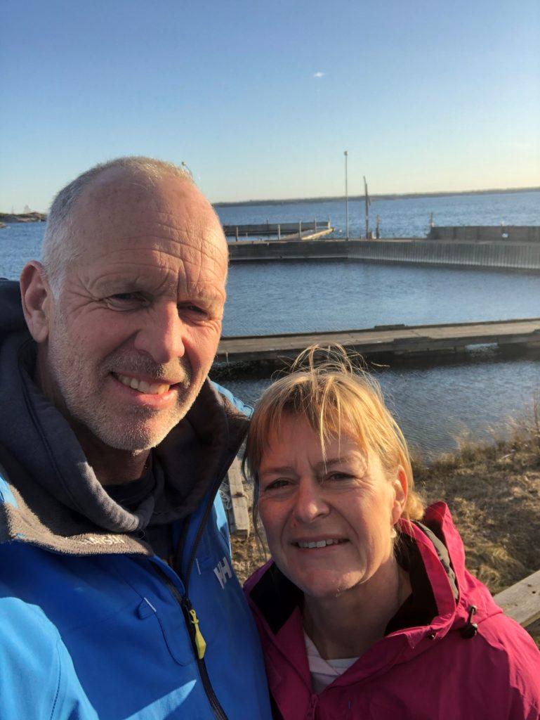 Lars och Heléne Nilsson Idö skärgårdsliv och Burger Schack, Västervik