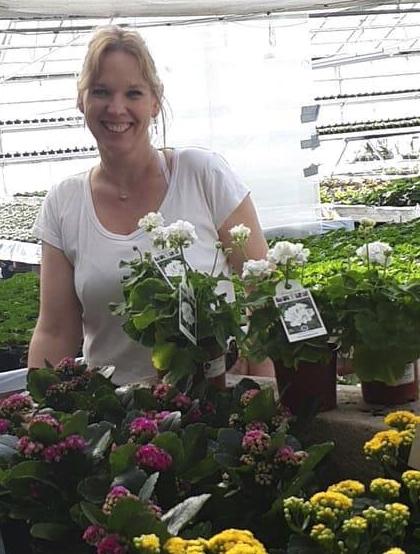 Linda Oskarsson, Hjorteds Handelsträdgård